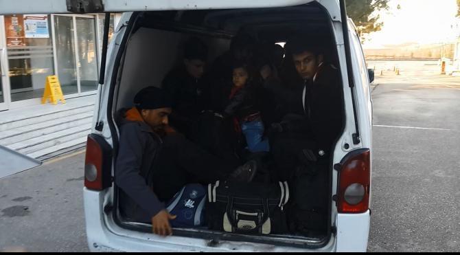 Kaçakların arasında yakalanan `terör örgütü üyesi´ tutuklandı