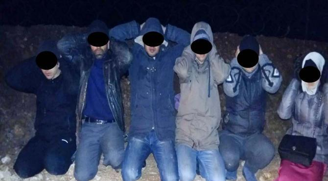 Kilis`te 6 IŞİD militanı yakalandı – ek fotoğraf
