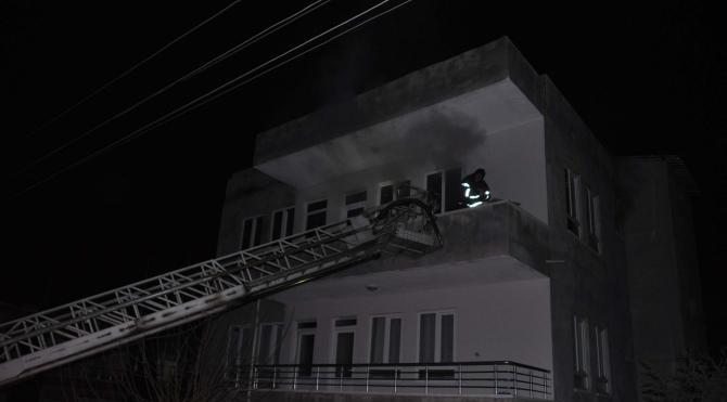Adıyaman`da evde çıkan yangın hasara yol açtı