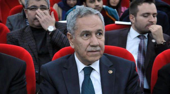 Arınç: AKP aleyhinde konuşmayacağım