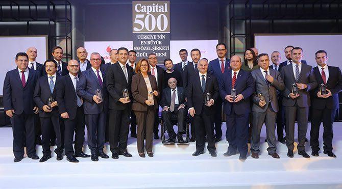 Capital500 ödülleri sahiplerini buldu