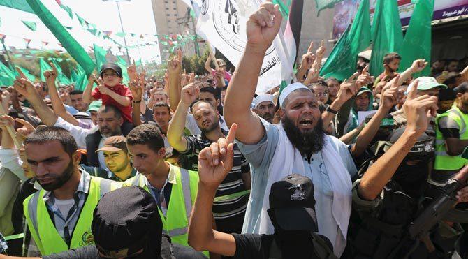 Olan Hamas'a oldu!