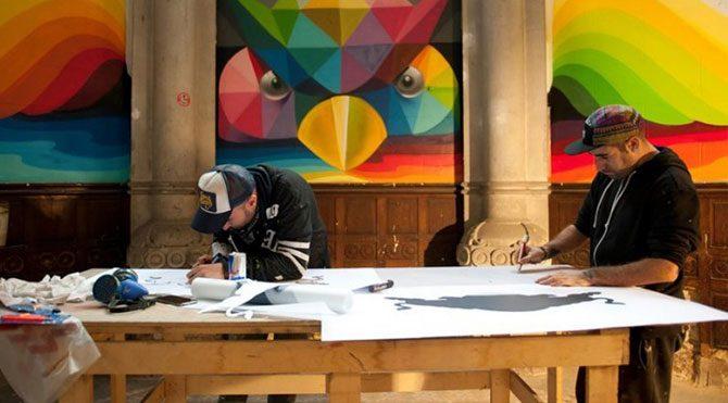 Tarihi kiliseye sanatsal dokunuş