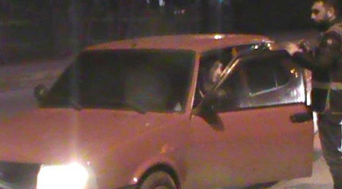Polisten alkollü sürücüye: 'Alkol almayın, gidin iki rekat namaz kılın'