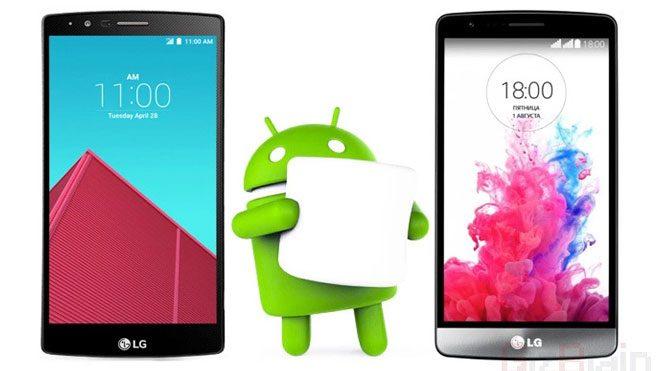 LG G4 için Marshmallow yayınlandı