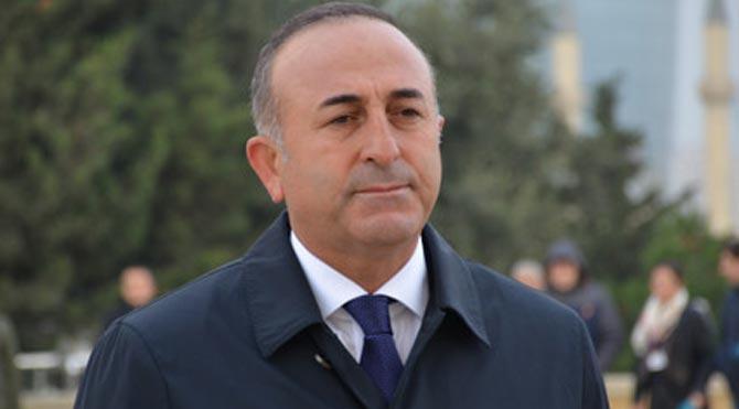 Çavuşoğlu, Ban Ki-mun ile görüştü