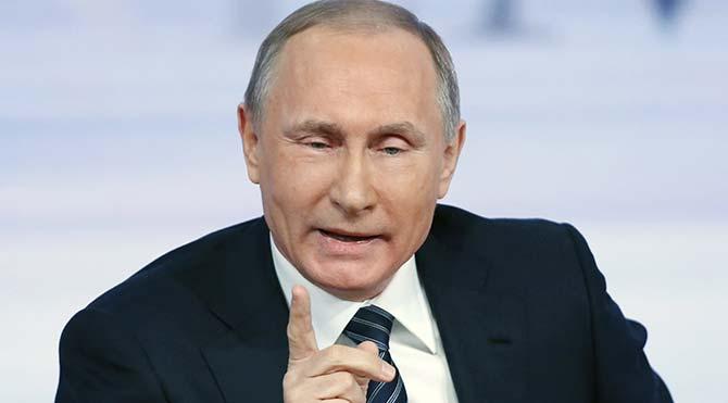 """Putin: """"Ayın altında hiçbir şey sonsuza dek sürmez"""""""