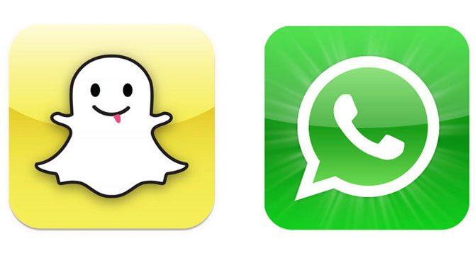 WhatsApp, Snapchat'e fark attı
