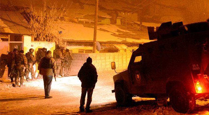 Erzurum'da kanlı gece