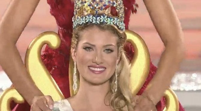 Miss World 2015'in kraliçesi belli oldu!