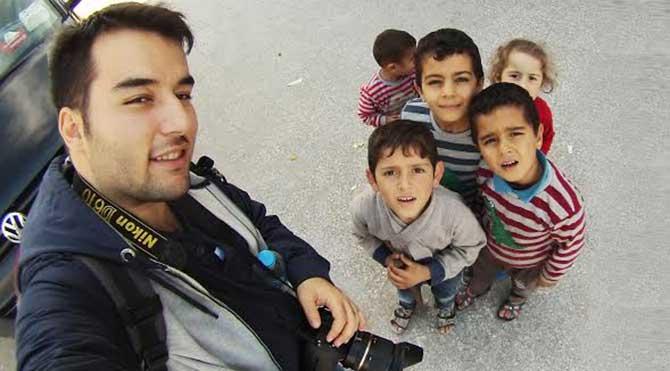 Suriyeli öğrenciden minik gözlerdeki hüznün sergisi!