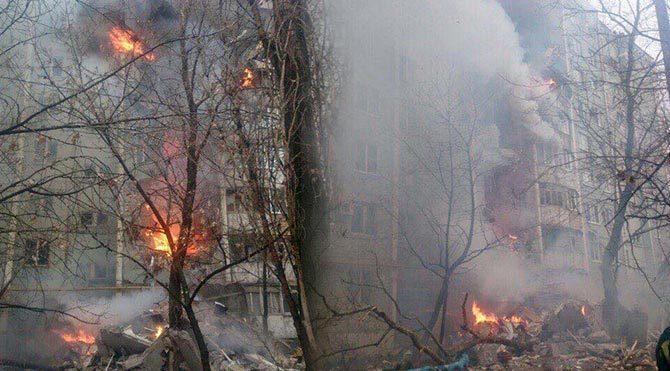 Rusya'da doğalgaz patlaması: 6 yaralı