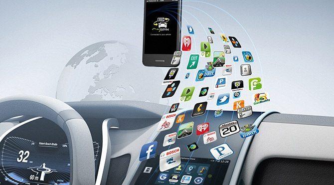 Akıllı telefon entegrasyonu için Bosch