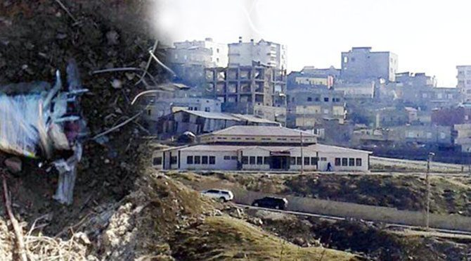 Ana okulunun bahçesine bomba koydular