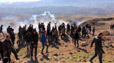 Şırnak'ta HDP'lilere müdahale