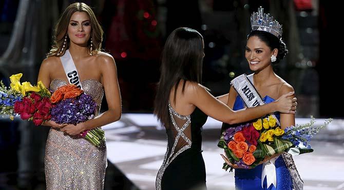 Miss Universe 2015'e anons hatası damga vurdu: Güzeller karıştı