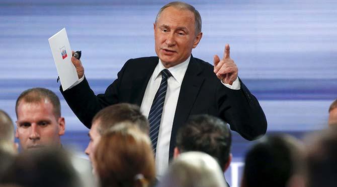 """Putin: """"Kimseyi inandıramıyorum"""""""