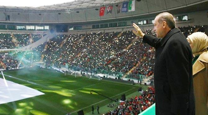 Başlama vuruşunu Erdoğan yaptı!