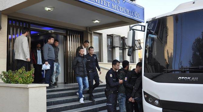Mersin'nde 3 YDG-H'li tutuklandı