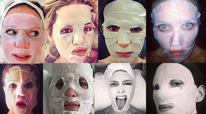 Ünlülerin 'yaşlanma karşıtı maske' çılgınlığı sosyal medyada çığ gibi büyüyor