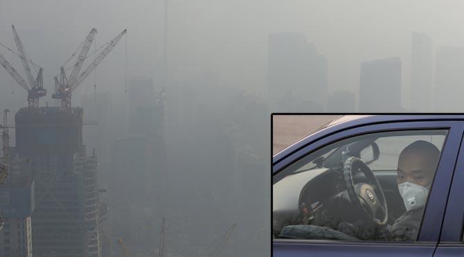 Çin'in 40 şehrinde kırmızı alarm