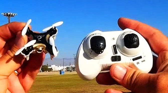 İşte dünyanın en küçük drone'u