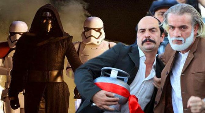 Düğün Dernek 2'den Star Wars'a çalım