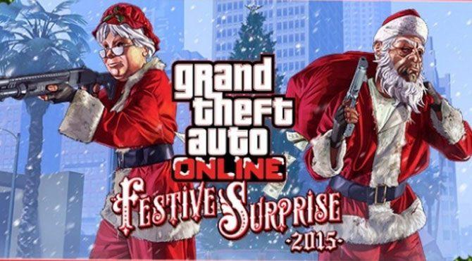 GTA V'ten Online yılbaşı güncelemesi