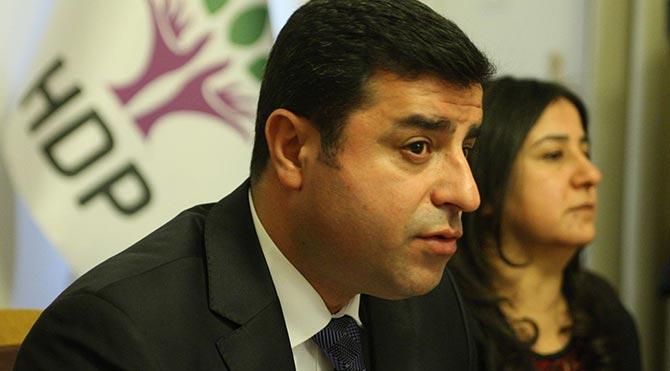 Selahattin Demirtaş hakkında 'hendek' soruşturması açıldı