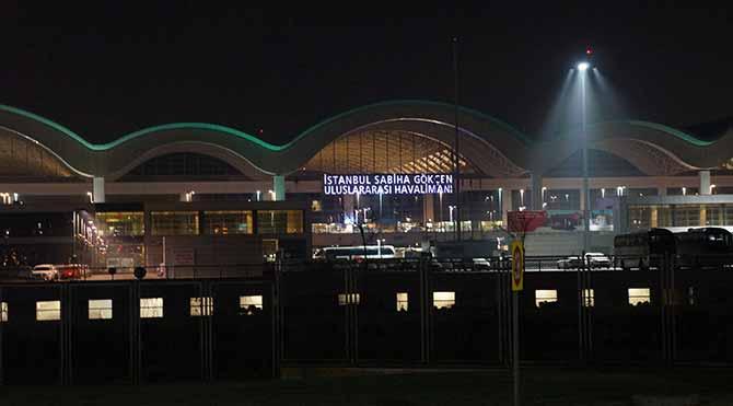 Sabiha Gökçen Havalimanı'nda kırmızı alarm