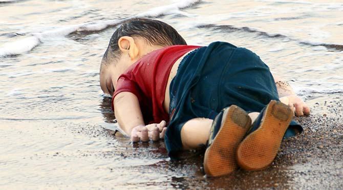 DHA Muhabiri Nilüfer Demir'in Aylan Kurdi fotoğrafı TIME'da ilk 10 arasına girdi