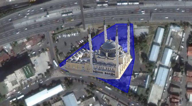 İstanbul'un üstü cami altı otopark oluyor