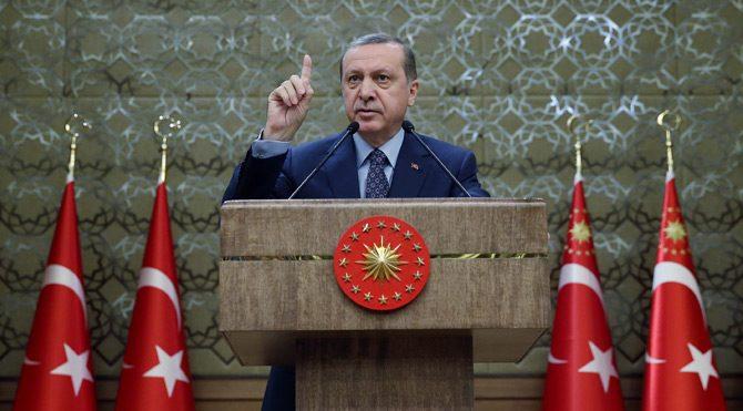 Erdoğan muhtarları kabulünde konuştu