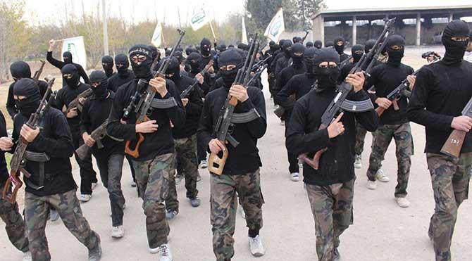 """""""Suriye'deki terörist grupları listesi 163'e ulaştı"""""""