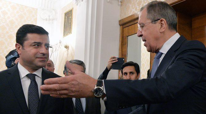 Selahattin Demirtaş Sergey Lavrov'la görüştü