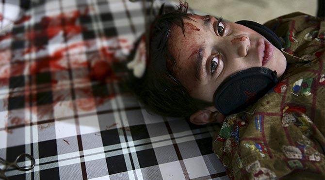 """""""Rusya'nın hava saldırılarında 200 sivil öldü"""""""