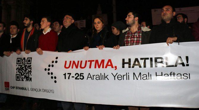 CHP'li gençler Kubilay için yürüdü