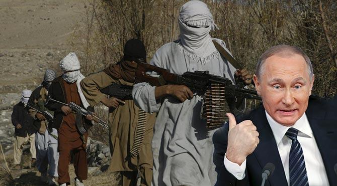 Rusya, IŞİD'le mücadele için Taliban'la temas kurdu