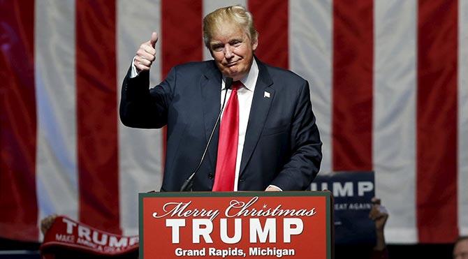 Trump başkanlık yarışında lider