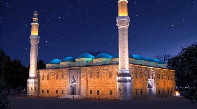 Evrenin sırrı Ulu Camii'ye işlenmiş!