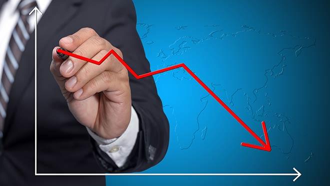 Hizmet ve perakende sektöründe güven azaldı