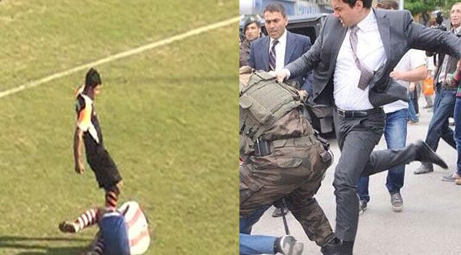 Futbolcuya ceza var, Yerkel'e yok