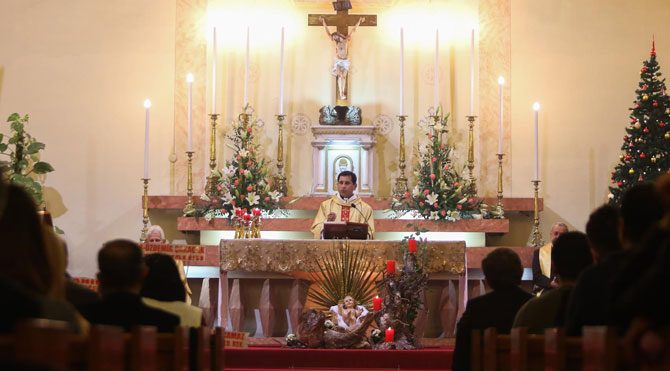 Hz. İsa'nın doğumunu kutladılar
