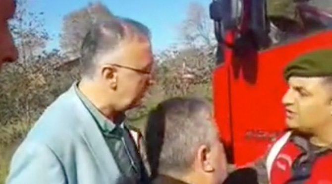 Giresun'da bir garip kamyon tartışması