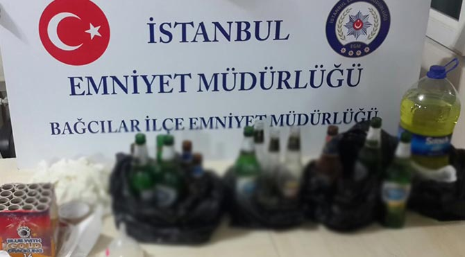 Bağcılar'da PKK'lı kundakçılara operasyon