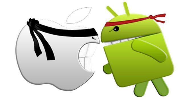 Android, iOS'tan daha popüler