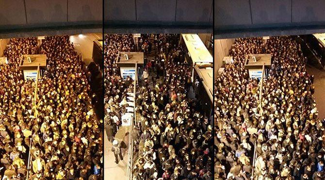 Stadyum değil Metrobüs durağı!