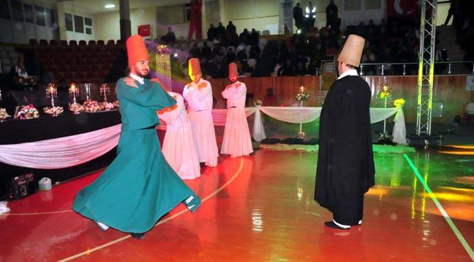 Tokat'ta Mevlana'yı anma programı düzenlendi