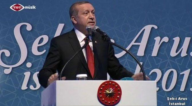 Erdoğan şimdi de TRT Müzik'te