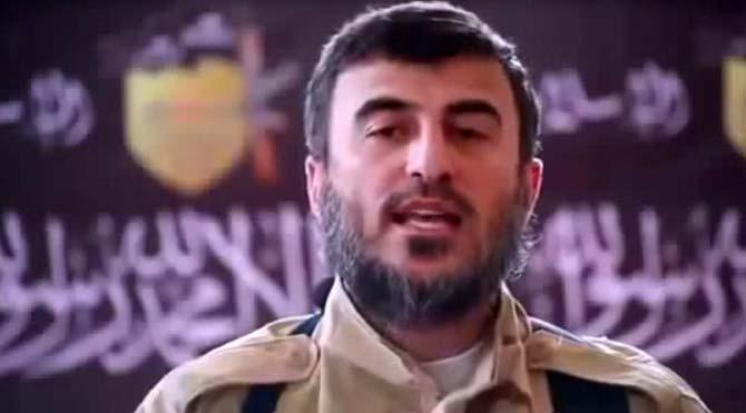 Suriye'de muhalif İslam Ordusu'nun lideri Zehran Alluş öldürüldü